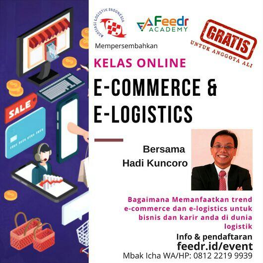 Gratis Kelas Online Ecommerce  Dan E-Logistic