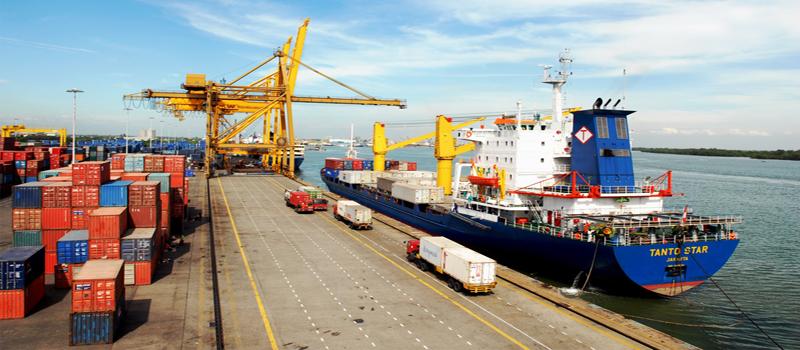Pelabuhan BUMN:<br/> Arus Kargo Kian Deras
