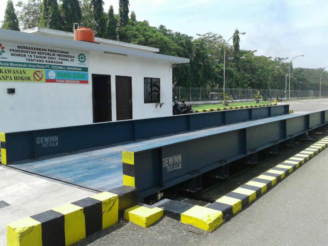 Jembatan Timbang Belum Efektif